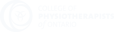 College of Physiotherapists of Ontario Logo